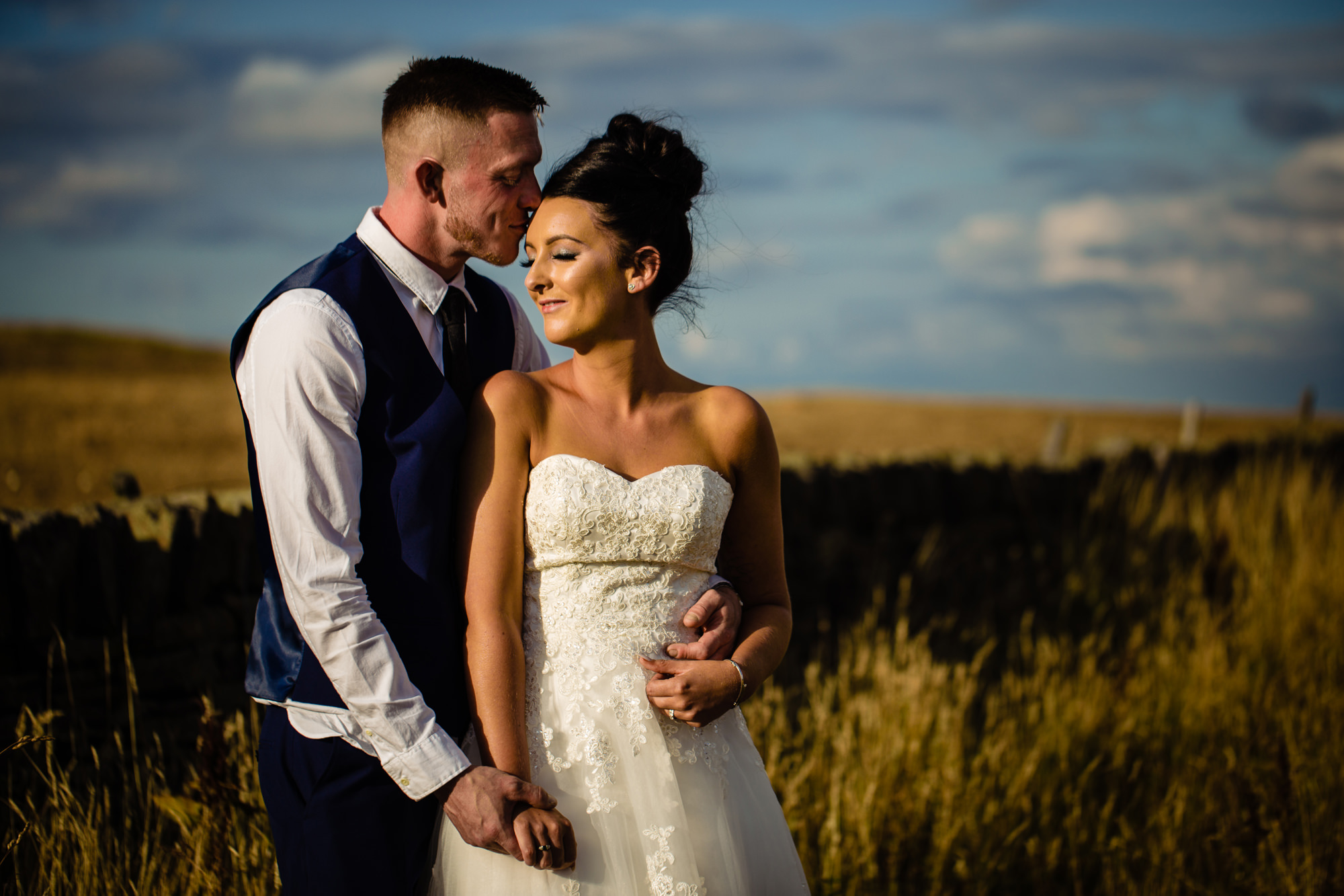 a wedding portrait. huntsman inn wedding photography by emma and rich.