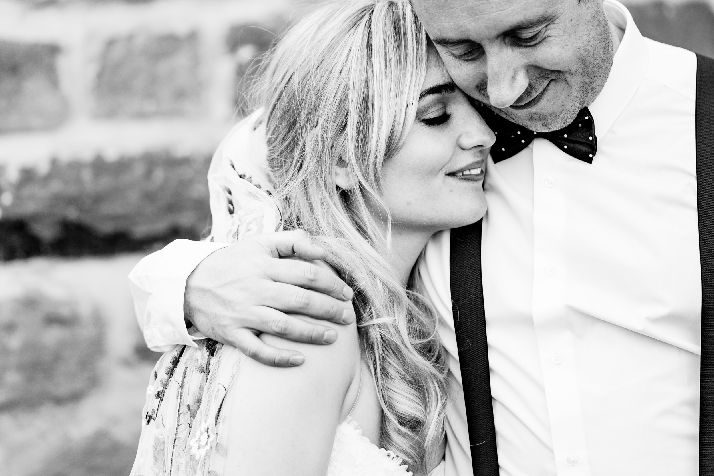 bride and groom portrait. wildwood and eden wedding photography by emma and rich.