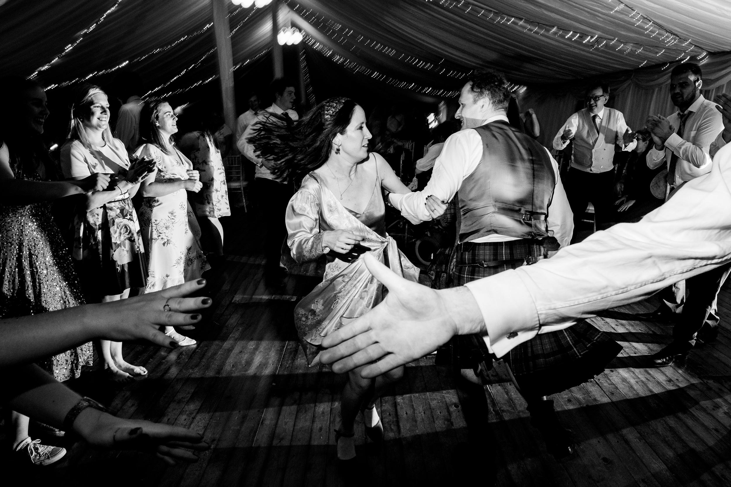 ceilidh. scottish wedding photography.