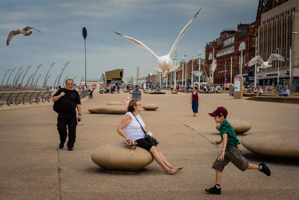 blackpool street photography